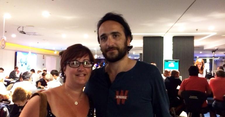 Davidi Kitai à l'EPT Barcelone