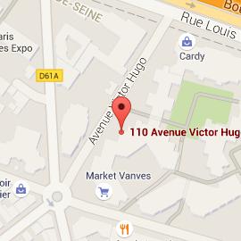 Localisation de l'Espace Giner